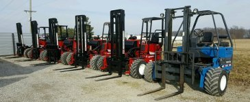 Princeton and Moffett Forklifts