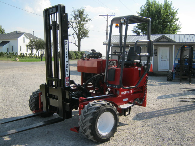 We sell Moffett Moffett M5500 truck mounted forklift