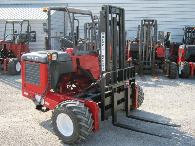 We sell Moffett Moffett M55 truck mounted forklift