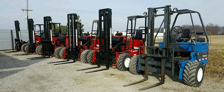 Princeton and Moffett Forklifts For Sale