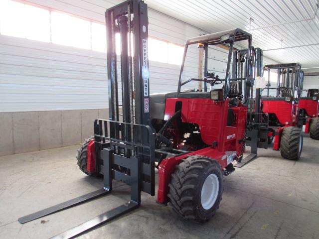 Moffett M8 55.3 NX truck mounted forklift
