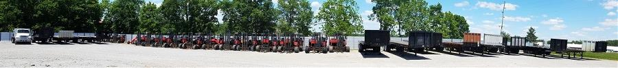 We Sell Used Moffetts, Piggyback Trailers and Trucks
